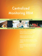 Centralized Monitoring RBM Complete Self-Assessment Guide