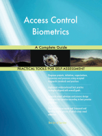 Access Control Biometrics A Complete Guide