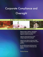 Corporate Compliance and Oversight A Clear and Concise Reference