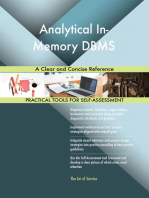 Analytical In-Memory DBMS A Clear and Concise Reference