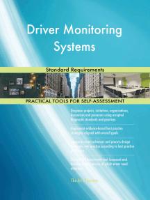 Driver Monitoring Systems Standard Requirements