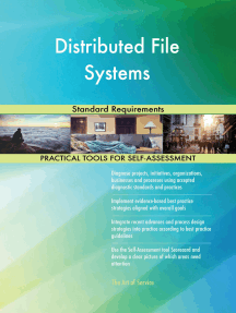 Distributed File Systems Standard Requirements