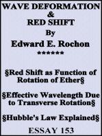 Wave Deformation & Red Shift