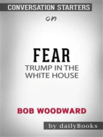 Fear: Trump in the White House​​​​​​​ by Bob Woodward​​​​​​​ | Conversation Starters