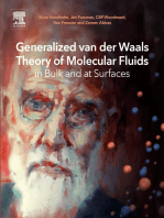 Generalized van der Waals Theory of Molecular Fluids in Bulk and at Surfaces