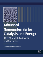 Advanced Nanomaterials for Catalysis and Energy