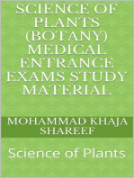 Science of Plants (Botany) Medical Entrance Exams Study Material