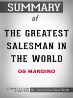 Summary of The Greatest Salesman in the World