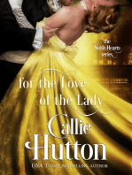 For the Love of the Lady (The Noble Hearts Series, #4)