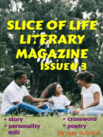 Slice Of Life Literary Magazine (Issue 3)