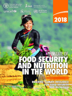 The State of Food Security and Nutrition in the World 2018: Building Climate Resilience for Food Security and Nutrition