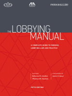 The Lobbying Manual