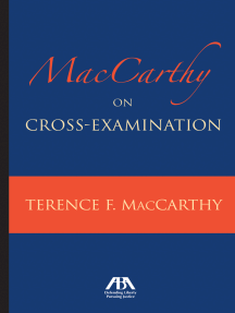MacCarthy on Cross-Examination