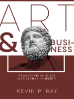 Art and Business: Transactions in Art and Cultural Property