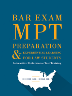 Bar Exam MPT Preparation & Experiential Learning For Law Students