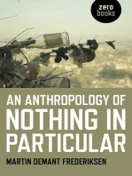 An Anthropology of Nothing in Particular