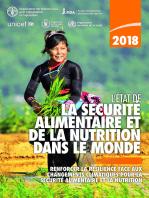 L'État de la sécurité alimentaire et de la nutrition dans le monde 2018