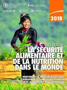 L'État de la sécurité alimentaire et de la nutrition dans le monde 2018: Renforcer la résilience face aux changements climatiques pour la sécurité alimentaire et la nutrition
