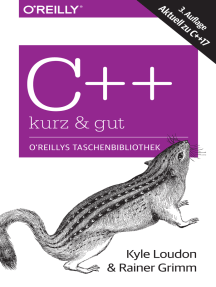 C++ – kurz & gut: Aktuell zu C++17