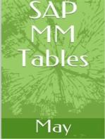 SAP MM Tables