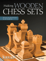 Making Wooden Chess Sets: 15 One-of-a-Kind Projects for the Scroll Saw