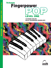 Fingerpower Pop - Level 1: 10 Piano Solos with Technique Warm-Ups