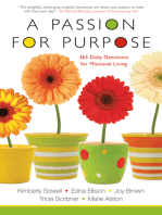 A Passion for Purpose