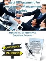 Project Management For Procurement Management Module