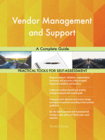 Vendor Management and Support A Complete Guide