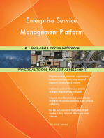 Enterprise Service Management Platform A Clear and Concise Reference