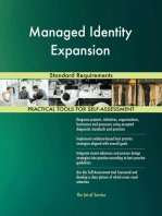 Managed Identity Expansion Standard Requirements