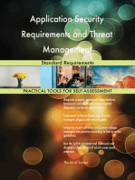 Application Security Requirements and Threat Management Standard Requirements