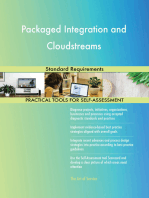 Packaged Integration and Cloudstreams Standard Requirements