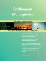 Entitlements Management Standard Requirements