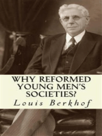 Why Reformed Young Men's Societies