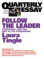Quarterly Essay 71 Follow the Leader