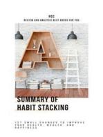 Summary of Habit Stacking