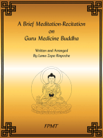 A Brief Meditation-Recitation on Guru Medicine Buddha eBook