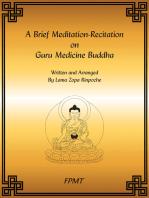 A Brief Meditation-Recitation on Guru Medicine Buddha eBook