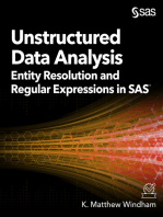 Unstructured Data Analysis