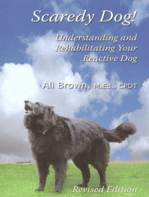 SCAREDY DOG!: UNDERSTANDING AND REHABILITATING YOUR REACTIVE DOG REVISED EDITION