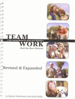 TEAMWORK: A DOG TRAINING MANUAL FOR PEOPLE WITH DISABILITIES REVISED EDITION
