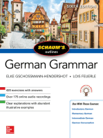 Schaum's Outline of German Grammar, Sixth Edition