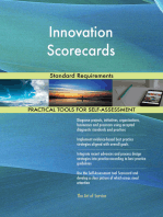 Innovation Scorecards Standard Requirements