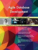 Agile Database Development Complete Self-Assessment Guide