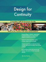 Design for Continuity Complete Self-Assessment Guide