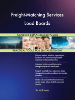 Freight-Matching Services Load Boards Complete Self-Assessment Guide