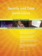 Security and Data Governance Standard Requirements