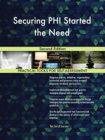 Securing PHI Started the Need Second Edition