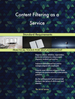 Content Filtering as a Service Standard Requirements